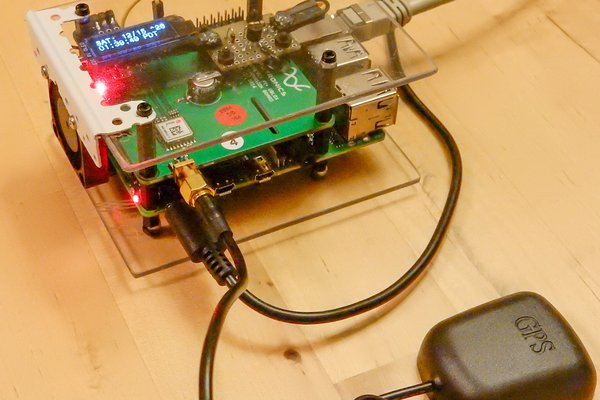 RPi4 NTP Server with GPS