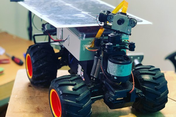 SOLARBOI - A 4G Solar Rover!