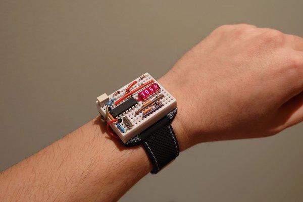 Breadboard Wristwatch