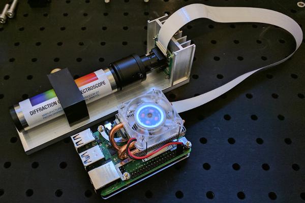 Raspberry Pi Spectrometer