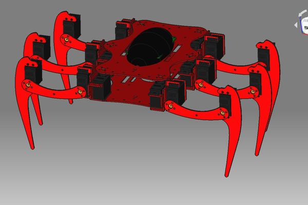 TAS - Arduino Based Hexapod Open Source Robot
