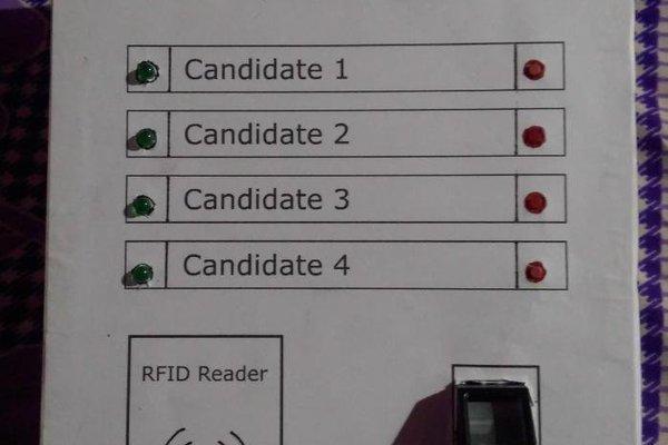 Aadhaar based biometric voting system