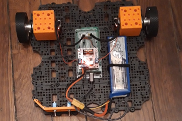 Build your own TurtleBot3 backbone