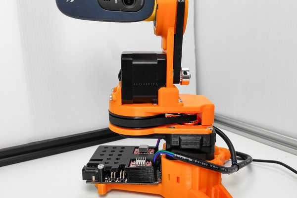 Remotely operated WEBCAM