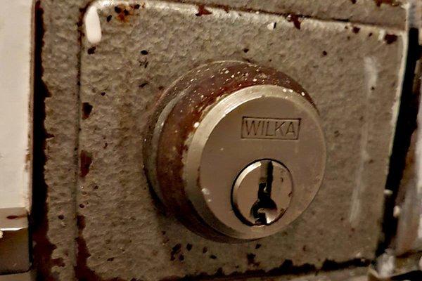 Ancient lock gets smart