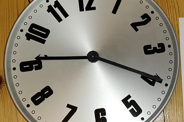 Tired Clock