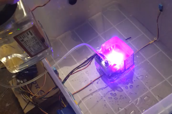 Automated Mushroom Fruiting Container