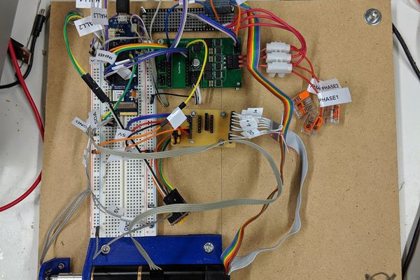 custom bldc motor board using fpga