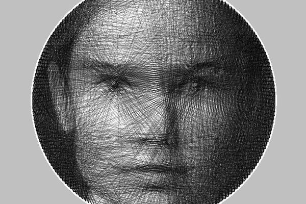 DIY Knit Portrait