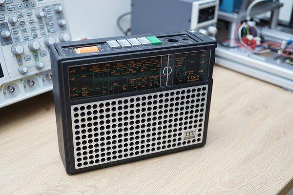 ITT Retro Radio as RPi - Squeezelite player