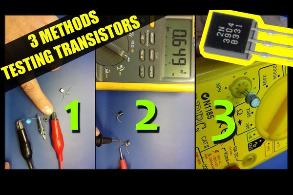How to test transistors