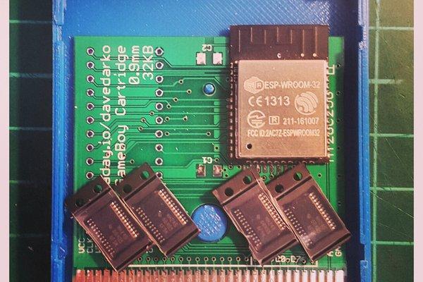 WIFI Game Boy Cartridge
