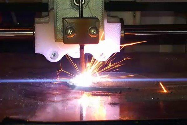 Arc Metal Powder Printer