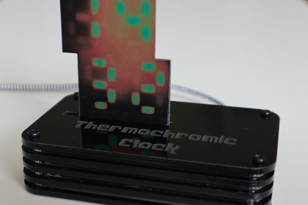 Thermochromic Clock