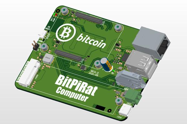 BitPiRat Computer (GEN1)