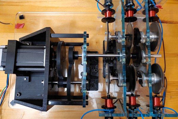 Hammond-Inspired Tonewheel Organ Robot