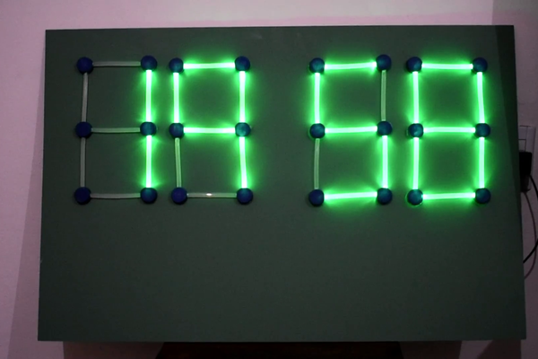 Big 7 segment display