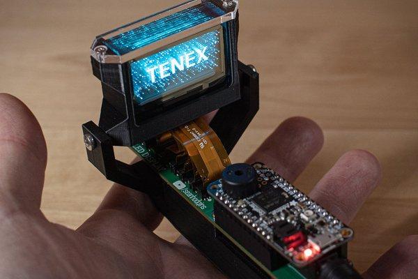 TENEX - Solid State Volumetric OLED Display