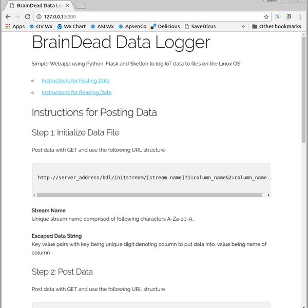 BrainDead Data Logger | Hackaday io