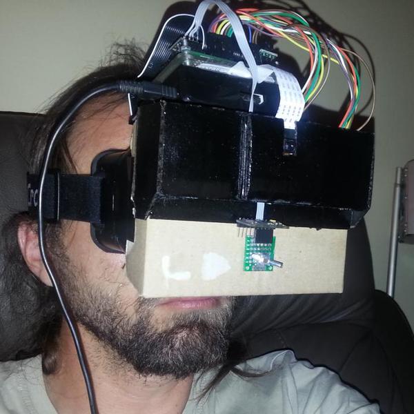 DIY Augmented Reality Device | Hackaday io