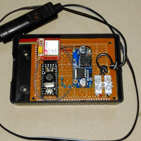 Remote data collection using free GPRS | Hackaday io