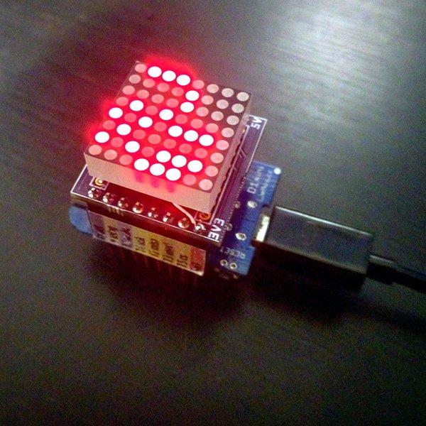D1 Mini Matrix Shield | Hackaday io