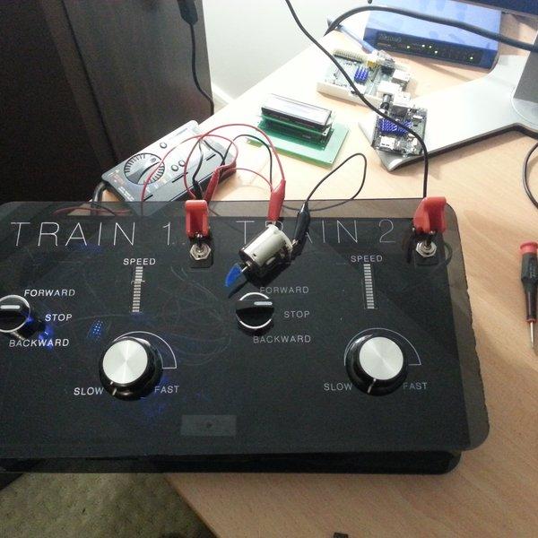 Model Train Controller   Hackaday io