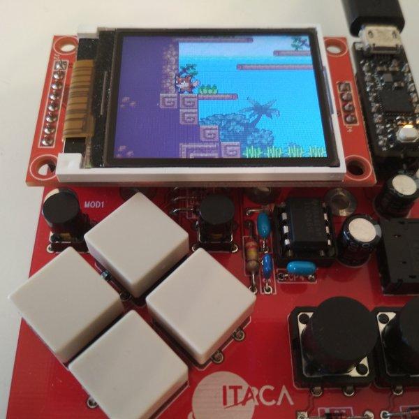 40-fps 16-bpp platform game on a Cortex M0+ board | Hackaday io