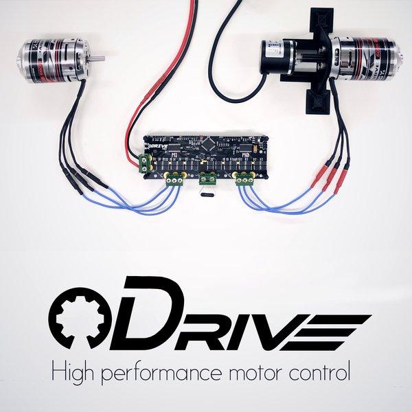 ODrive - High performance motor control | Hackaday io