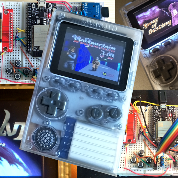 Gaming on the ESP32 / Odroid-Go | Hackaday io