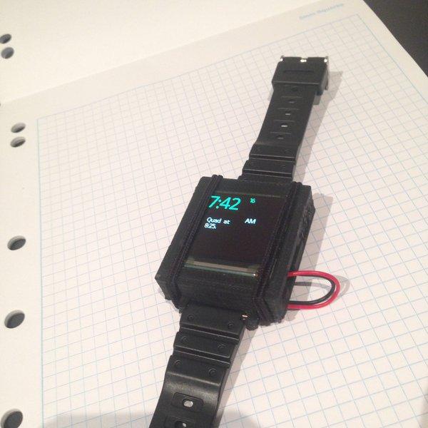 Arduino smart watch hackaday