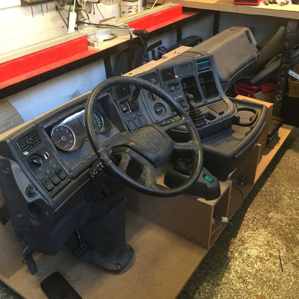 Real Scania Truck Home Simulator | Hackaday io