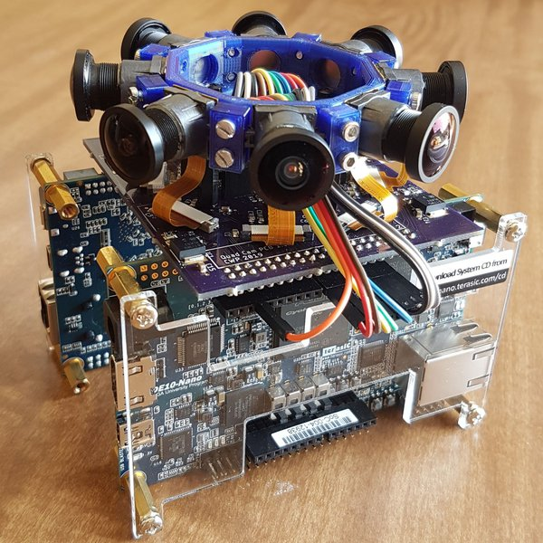 VR Camera V2: FPGA VR Video Camera | Hackaday io