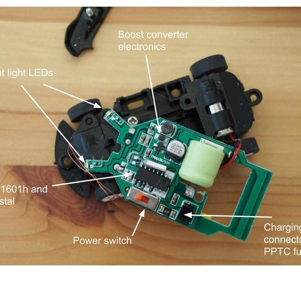 Micro RC Car Teardown : 4 Steps (with Pictures