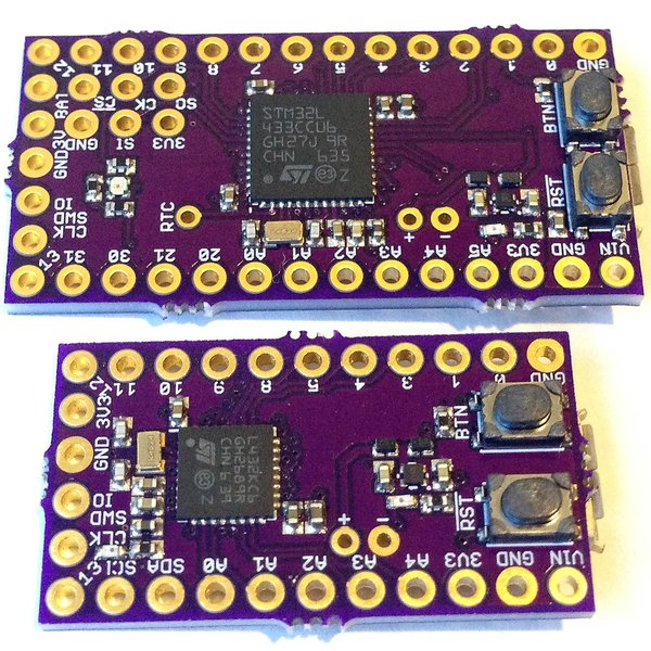 Arduino-Programmable Cortex M4F Development Boards | Hackaday io