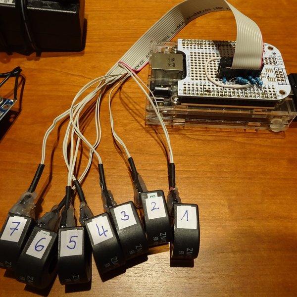 7 channel energy monitor | Hackaday io