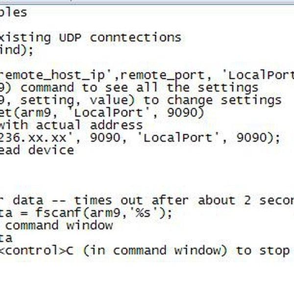 Matlab-to-FPGA UDP communication   Hackaday io