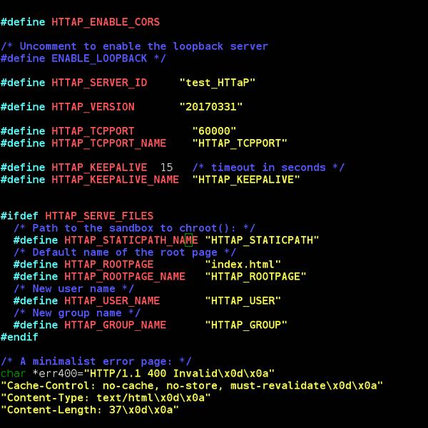 micro HTTP server in C   Hackaday io