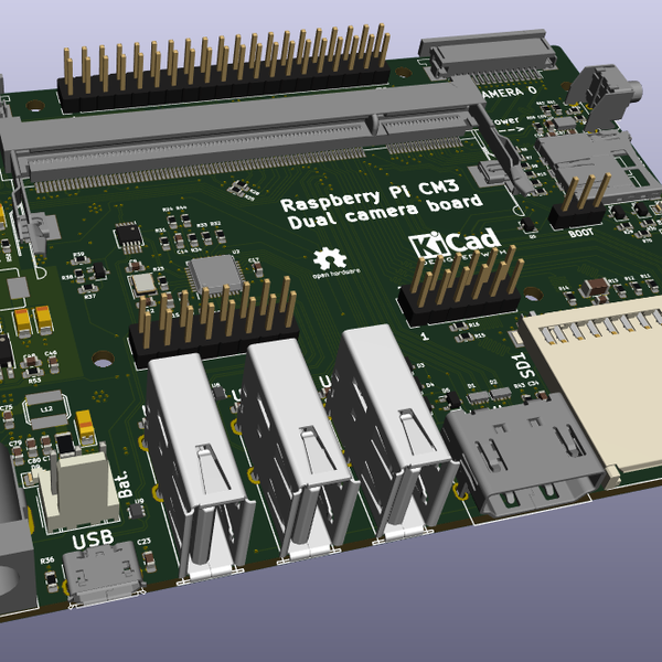 Carrier board for the Raspberry Pi Compute Module | Hackaday io