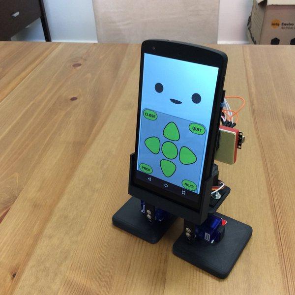 Mobbob smart phone powered robotic companion hackaday