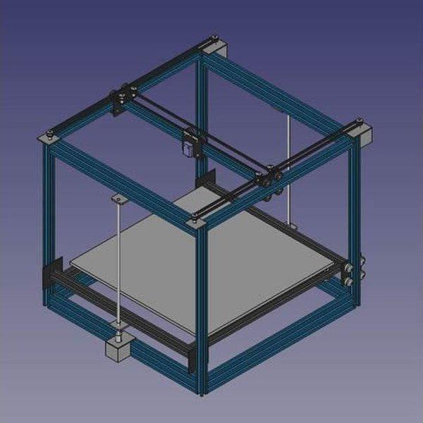 CR-10 3D Cube
