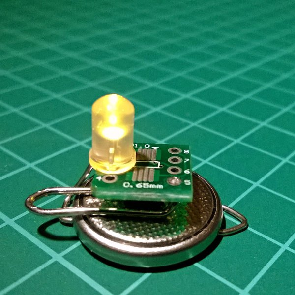 AVR vs PIC: The case of the candle