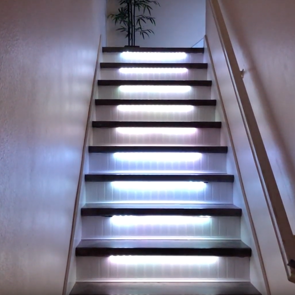 Led Stair Lights Arduino Controlled Motion Act Hackaday Io