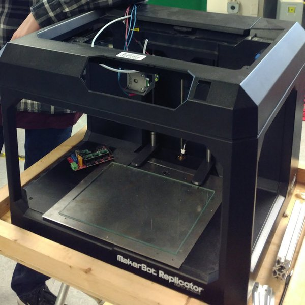 RepRap-ified Makerbot Replicator 5th Gen | Hackaday io