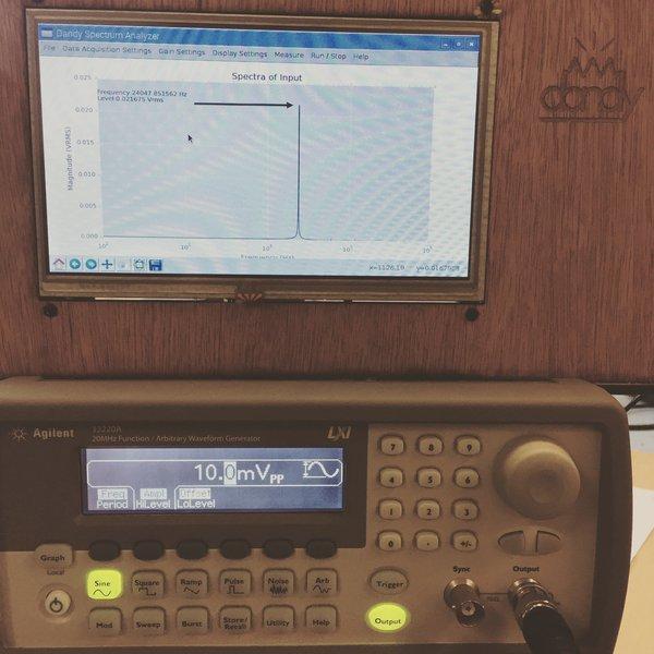 Frequency Analyzer App