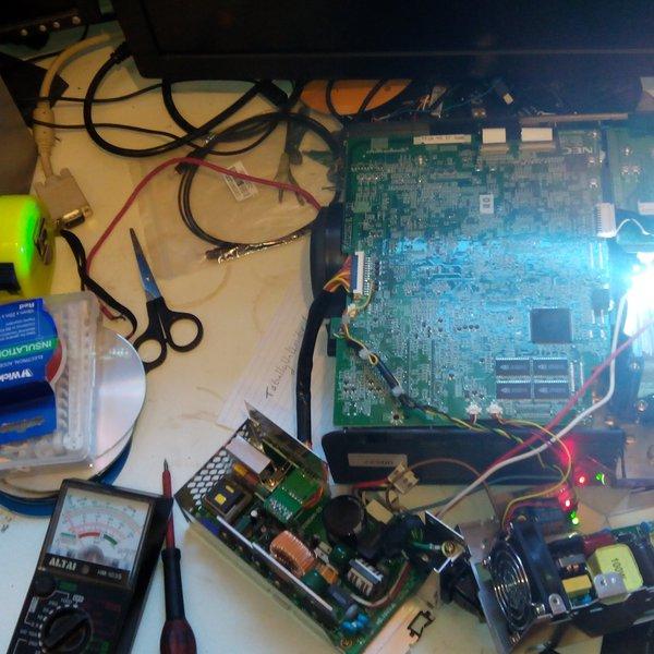100w LED projector conversion | Hackaday io