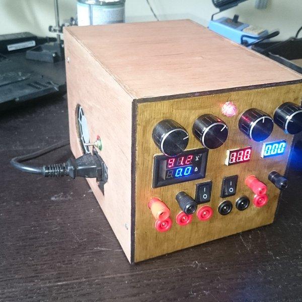 Variable bench powersupply 1-80V 0-10A   Hackaday io