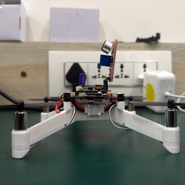 Build a Clap-to-Fly Drone Using PlutoX