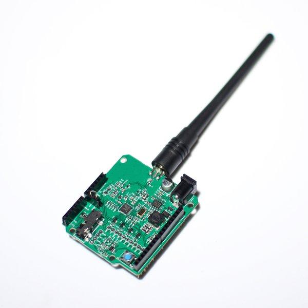 Hamshield vhf uhf transceiver for arduino hackaday