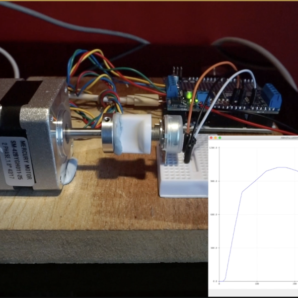 Spin/Drive: Automatic potentiometer tracer